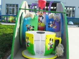Mobile Tea Cup Rides