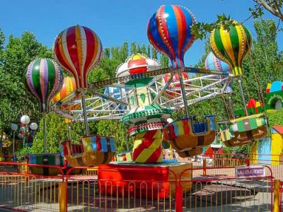 The development of amusement rides industry