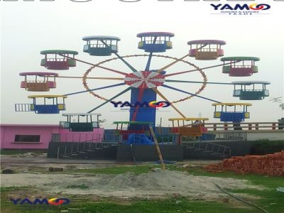 YAMOO rides are installed in Bangladesh in March 2017